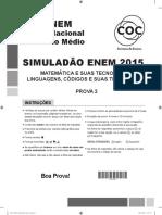 Simuladão Enem COC - Prova 2