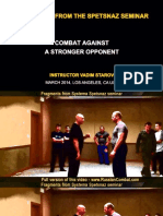 Russian Systema  vs  Straight Punch - Video Screenshots