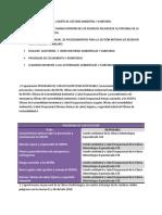 Conformacion Del Comite de Gestion Ambiental y Sanitario