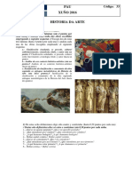 PAU 2016 Historia Arte
