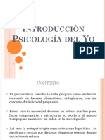 Introducción Psicología Del Yo