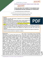 Jurnal Widal & PCR Pegangan