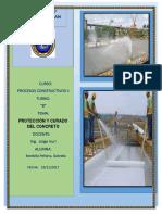 Proteccion y Curado Del Concreto---g