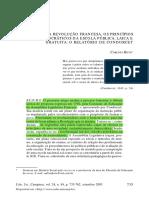 NA REVOLUÇÃO FRANCESA, OS PRINCÍPIOS DEMOCRÁTICOS DA ESCOLA PÚBLICA, LAICA E GRATUITA