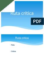Ruta Critica