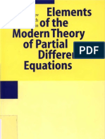 Egorov, Komech and Shubin - Elements of the Modern Theory of Partial Differential Equations (1999)