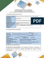Guía de Actividades y Rúbrica de Evaluación Taller 5. Aprendizaje Colegial e Innovación
