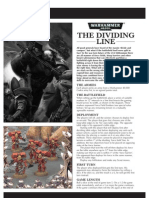 Mission Warhammer 40,000 the Dividing Line