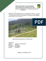 ESTUDIO GEOLOGICO Y GEOTECNICO CARRETERA TOTORA - CCOTACCASA 01.docx