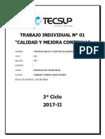 TRABAJO INDIVIDUAL N°1 - CALIDAD MEJOR Y CONTINUA