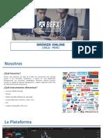 Presentación BeFX Perú