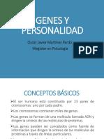 Genes y Personalidad