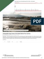 Pendangkalan Sungai Sombe Di Palu Akibat Material Pasir Dan Batu – Berita Daerah