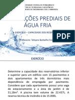 Aula 2 - Exercício - capacidade dos reservatórios.pdf