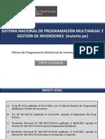 Sistema Nacional de Programación Multianual y Gestión de Inversiones