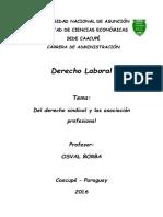 Unidad VIII - Derecho Laboral