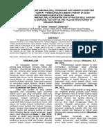 Analisis Kadar Amonia Pd Sumur