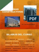 1. Diapositivas Sist. Constructivos - Introduccion