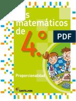 PD 4° proporcionalidad