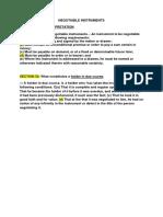 Negotiable Instruments Memorize