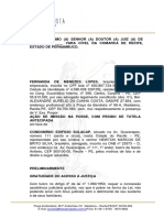 AÇÂO CAUTELAR - IMISSÂO NA POSSE -.docx