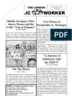 London Catholic Workers Newsletter 5th Draft Summer 2010