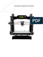 Building Instructions of Geeetech Prusa I3 M201