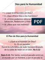 El Plan de Dios Para La Humanidad