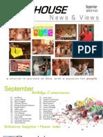 Newsletter Sept '10
