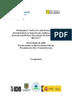 Agenda IES-Bogota Workshop