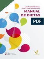 Linhas Orientadoras Para a Construcao de Um Manual de Dietas APN2017