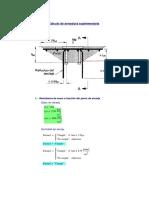 Mathcad - Calculo Aarmadura Suplementaria Estanque