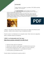 Activdad Espanol para extranjeros Goya Hoy 2017