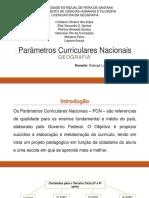 Parâmetros Curriculares Nacionais - Metodologia