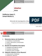 CTT101 Enfoque Cuantitativo, Fundamentos 1