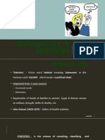 Biostatistics in Dentistry