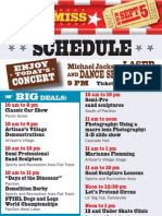 Sept. 5 Oregon State Fair Schedule