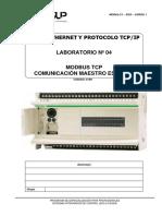 Laboratorio-04-DCS-Redes Ethernet TCPIP - Comunicacion Modbus TCPDFDFGE
