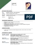 Marcelo Espinosa - Curriculum Vitae