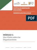 1. Una Vision Sobre Las Organizaciones