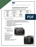 Transformador Tipo Pedestal Radial 15 Kva 13.2 v 220-127 v Al-Al, D-y Mca Madver