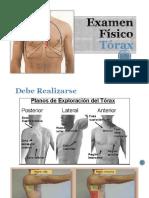 14.1 Examen Físico Toráx