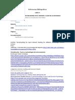 Referencias Bibliograficas Reinerio Fonseca Castillo