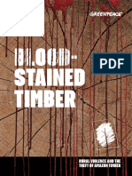 Greenpeace BloodStainedTimber 2017
