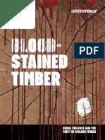 Greenpeace BloodStainedTimber 2017