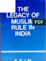 The Legacy of Muslim Rule in I