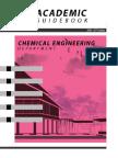 Academic Guidebook Chemical Engineering Department 2016 2017 Edition