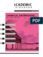 Academic Guidebook Chemical Engineering Department 2016 2017 Edition