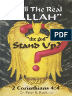 Will the Real Allah Stand Up_ - Dr Peter S Ruckman