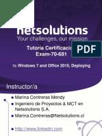 Tutoria Examen 70 681(Oct2012 Microsoft)